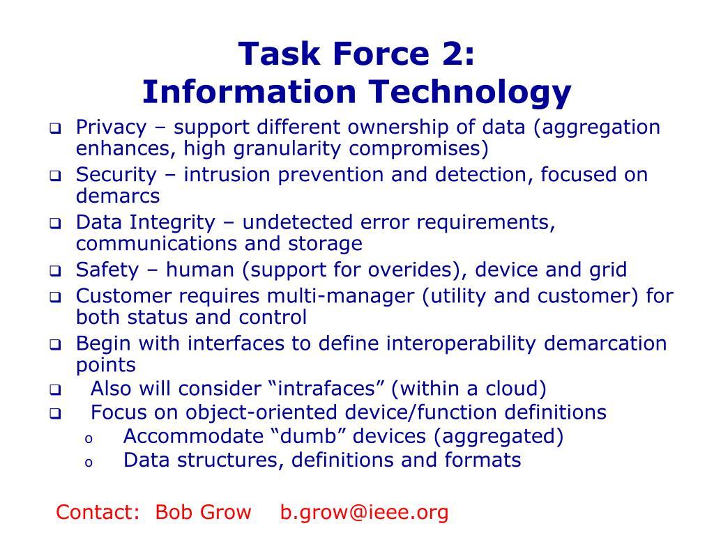 Task Force 2: