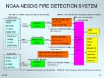 noaa nesdis fire detection system