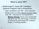 what is was isp