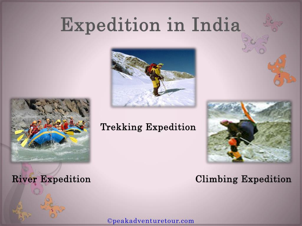 Expedition in India
