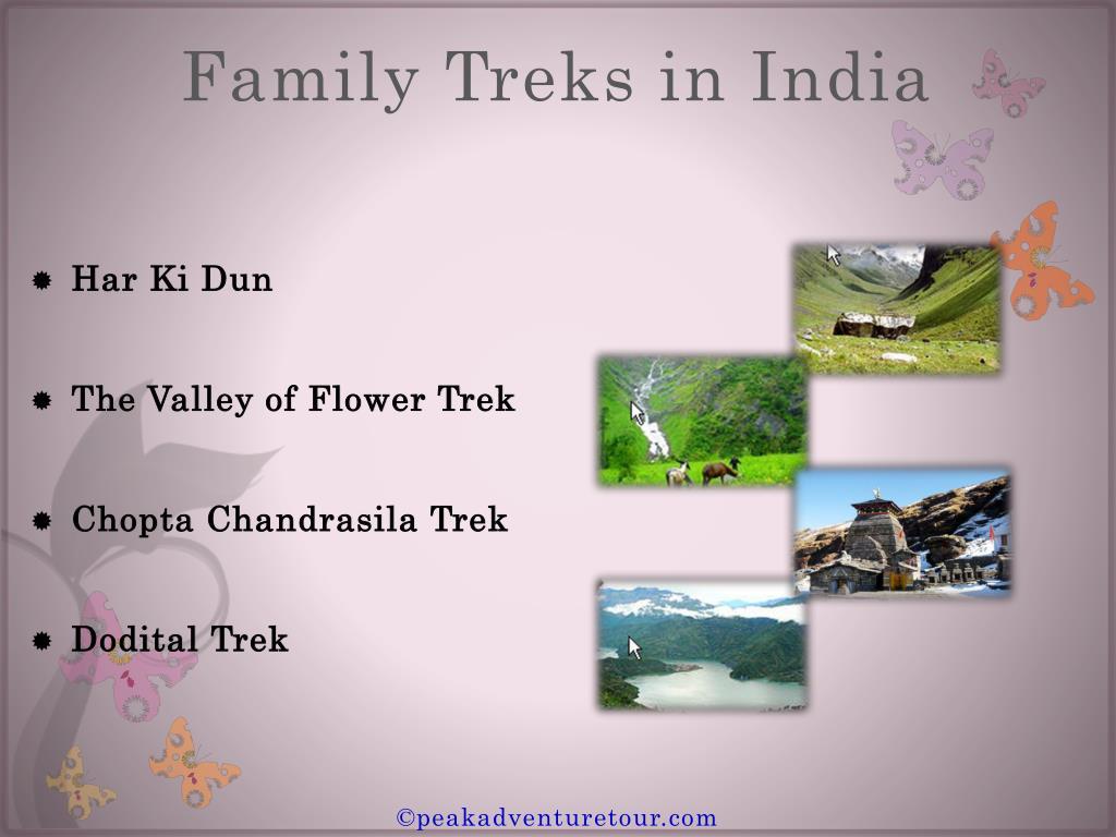 Family Treks in India