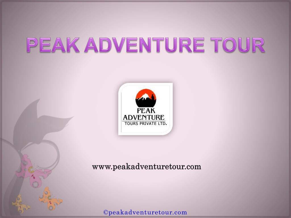 PEAK ADVENTURE TOUR