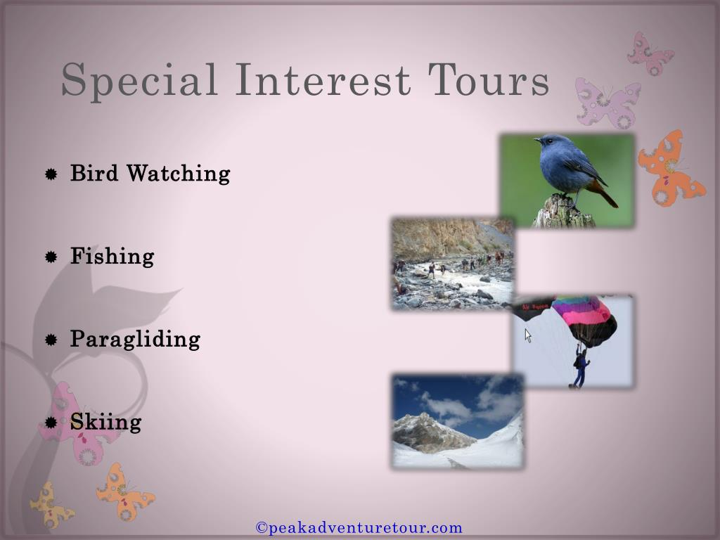 Special Interest Tour