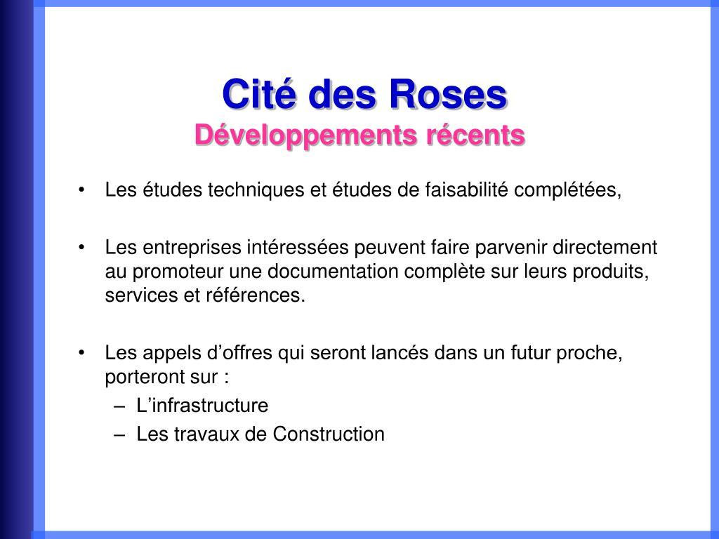 Cité des Roses