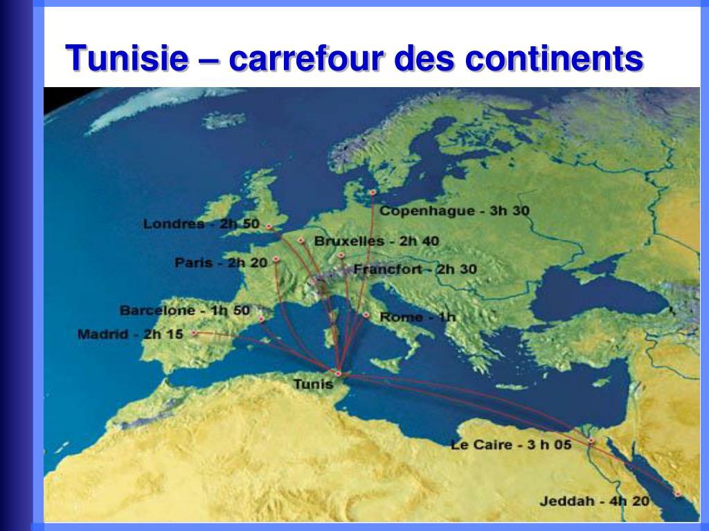 Tunisie – carrefour des continents