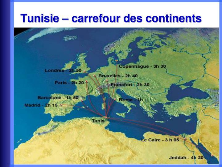 Tunisie carrefour des continents