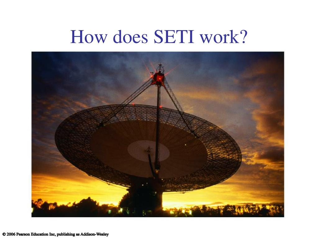 How does SETI work?