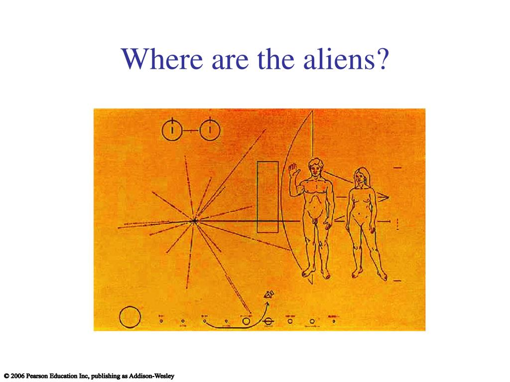 Where are the aliens?