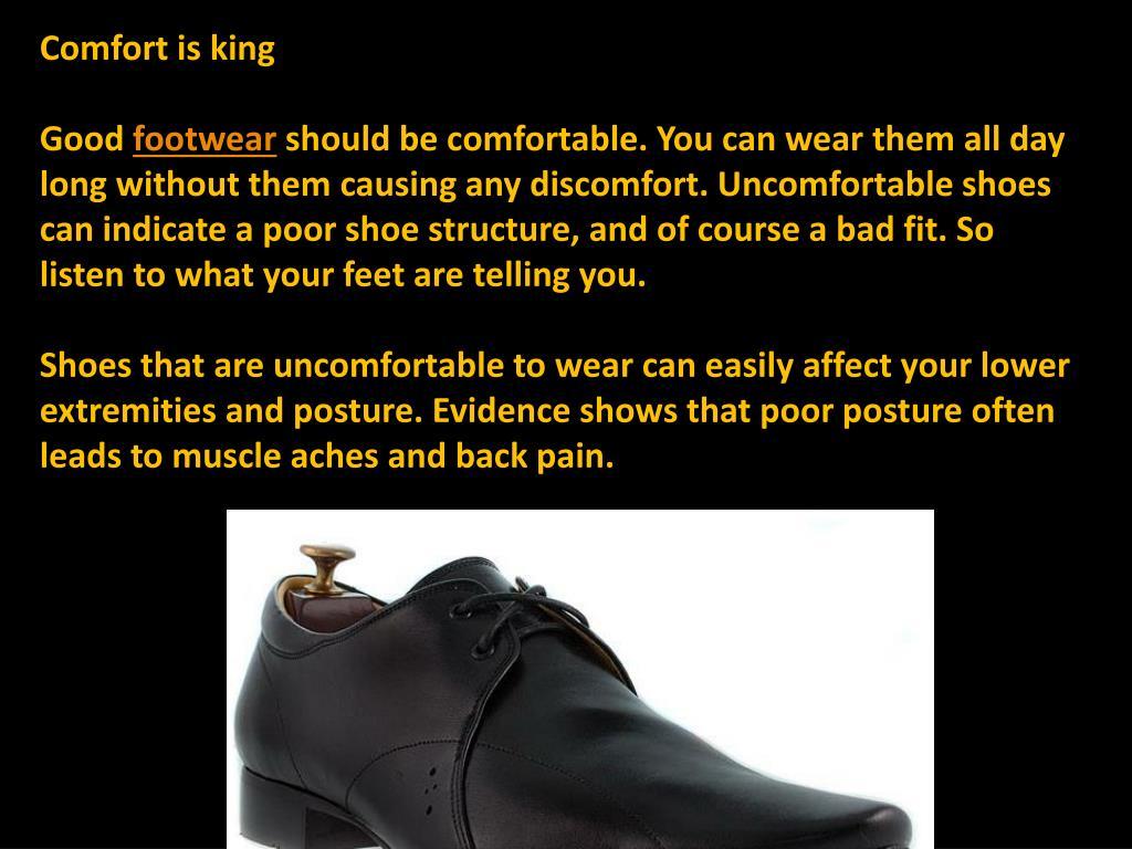 Comfort is king