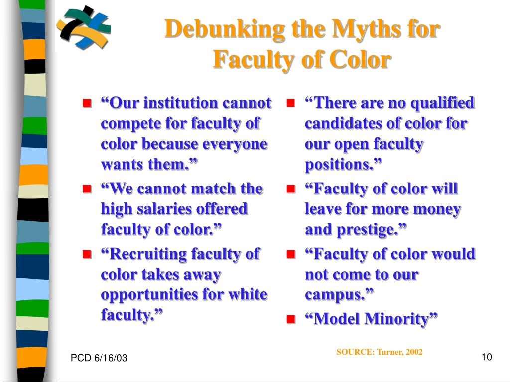 """""""Our institution cannot compete for faculty of color because everyone wants them."""""""