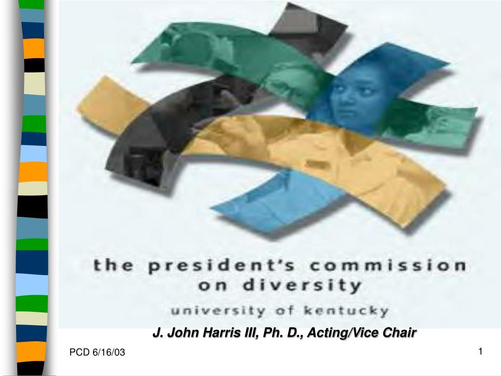 J. John Harris III, Ph. D., Acting/Vice Chair