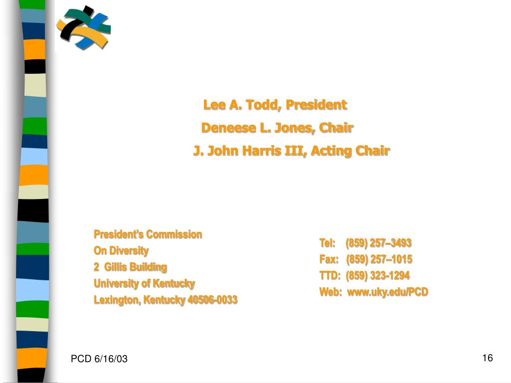 Lee A. Todd, President