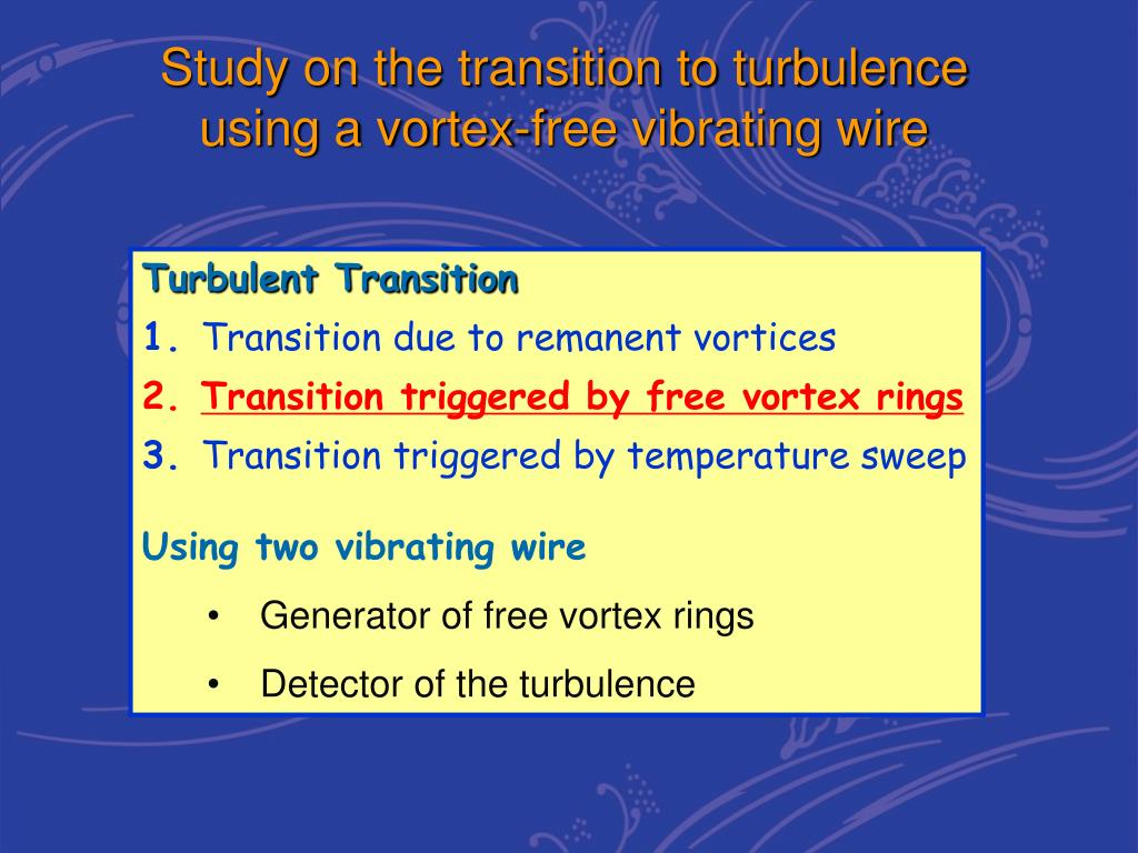 PPT - Transition to Turbulence in Alternating Boundary Flow of