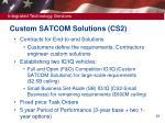 custom satcom solutions cs2