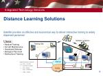 distance learning solutions