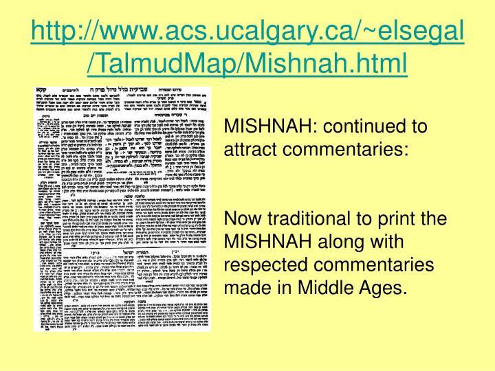 Http www acs ucalgary ca elsegal talmudmap mishnah html