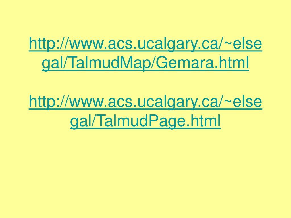 http://www.acs.ucalgary.ca/~elsegal/TalmudMap/Gemara.html