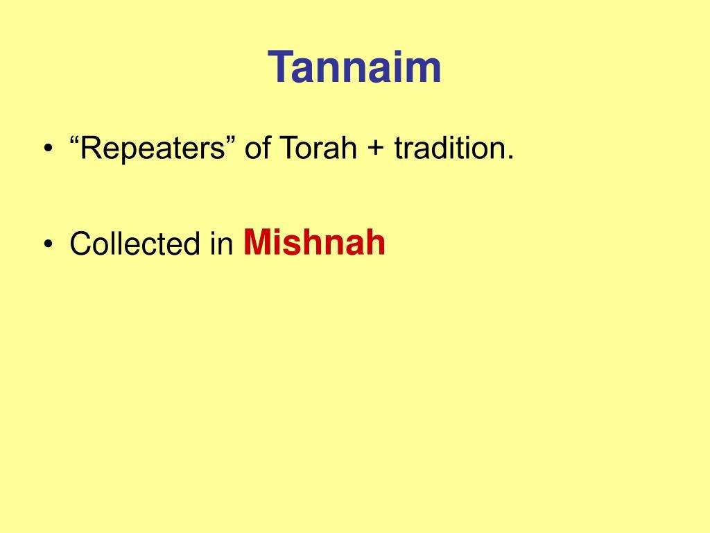 Tannaim