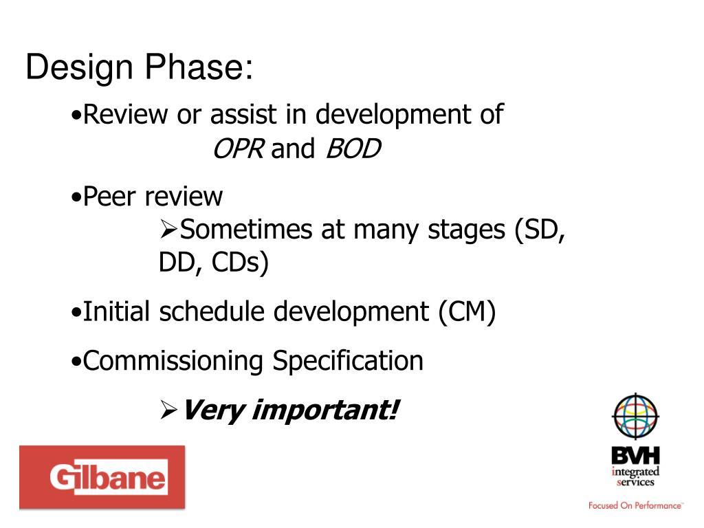 Design Phase: