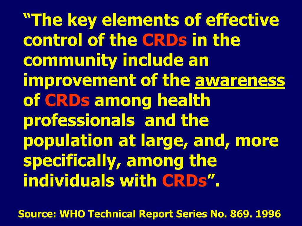 """""""The key elements of effective control of the"""