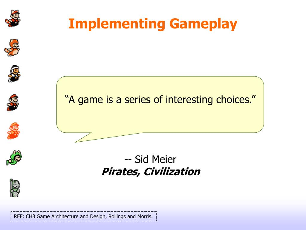 Implementing Gameplay