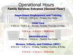 operational hours4