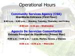 operational hours43