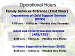 operational hours45