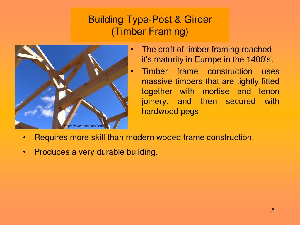 Building Type-Post & Girder