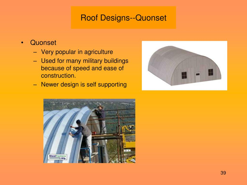 Roof Designs--Quonset