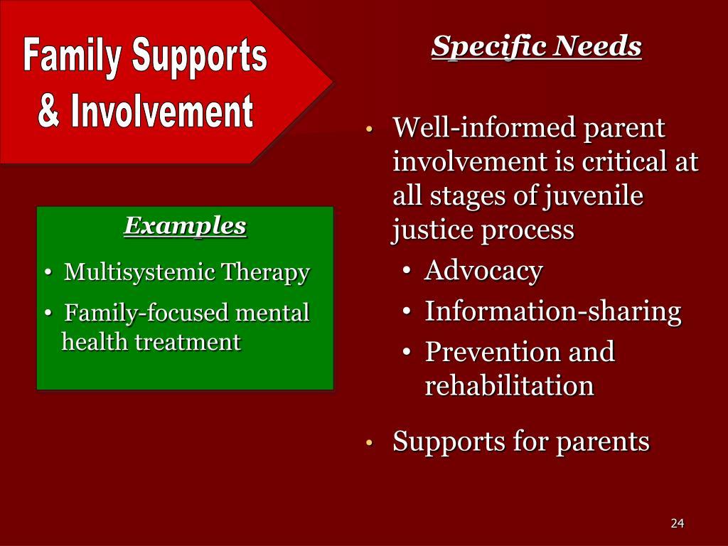 Specific Needs