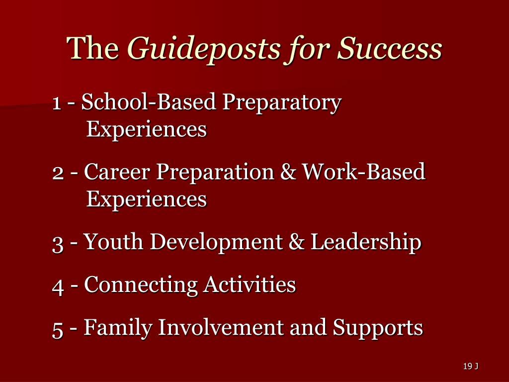 1 - School-Based Preparatory Experiences