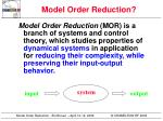 model order reduction4