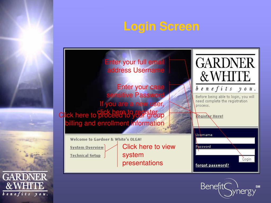 Click here to view system presentations