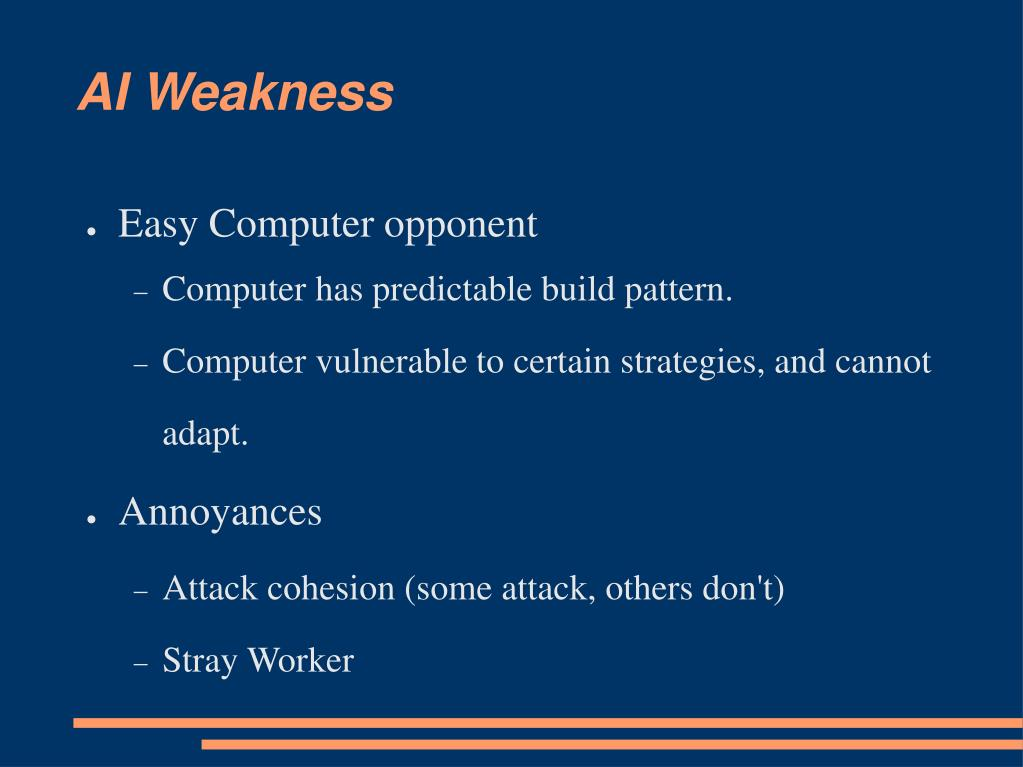 AI Weakness