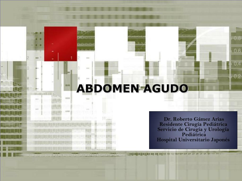 abdomen agudo l.