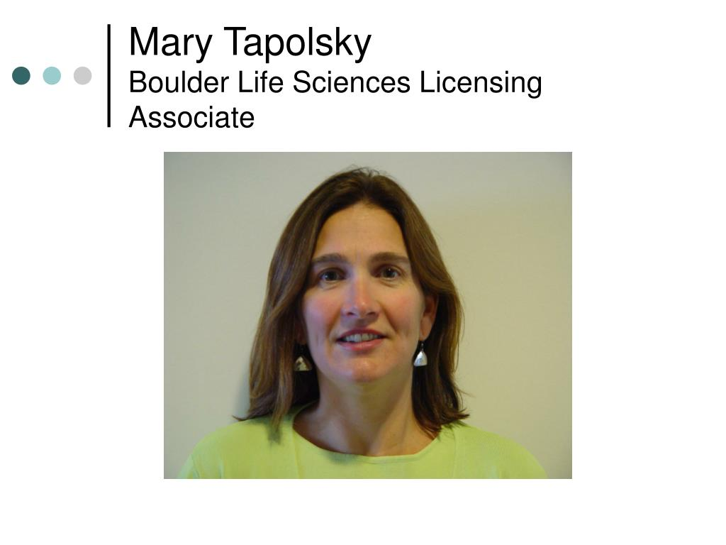 Mary Tapolsky