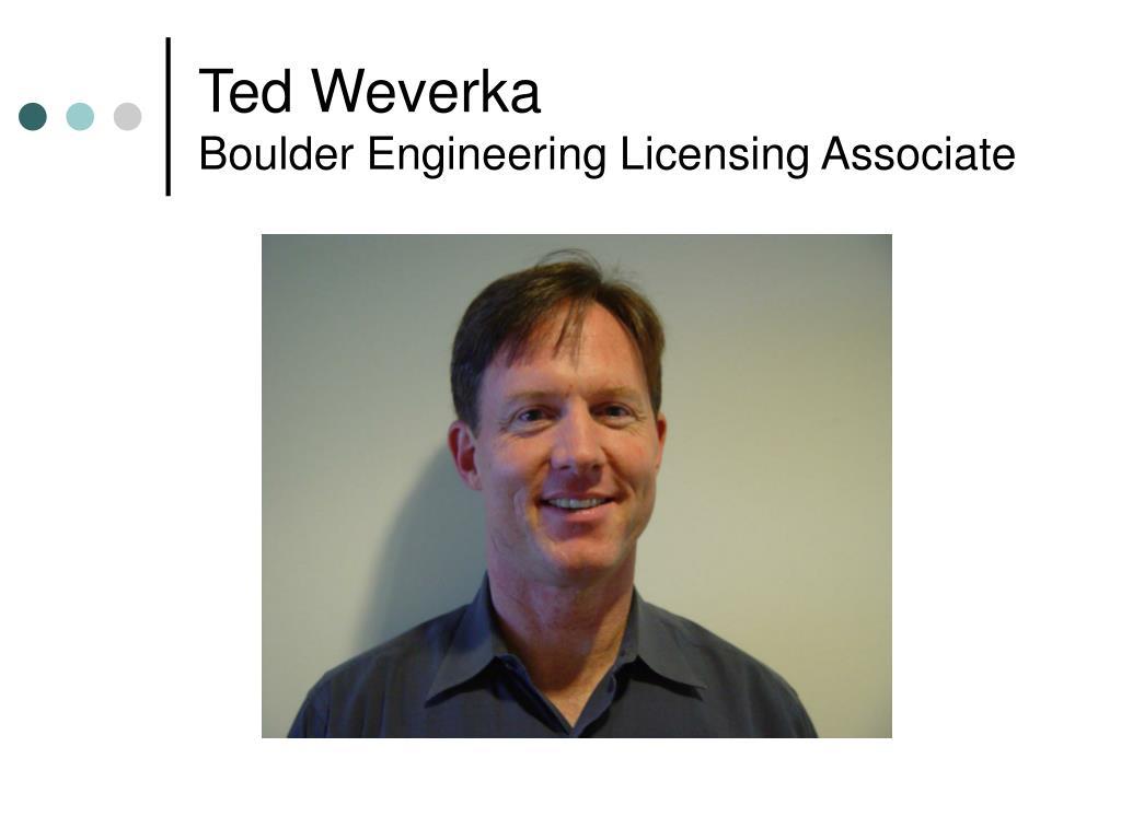 Ted Weverka