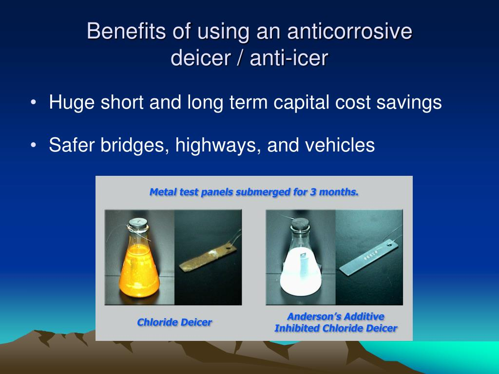 Benefits of using an anticorrosive