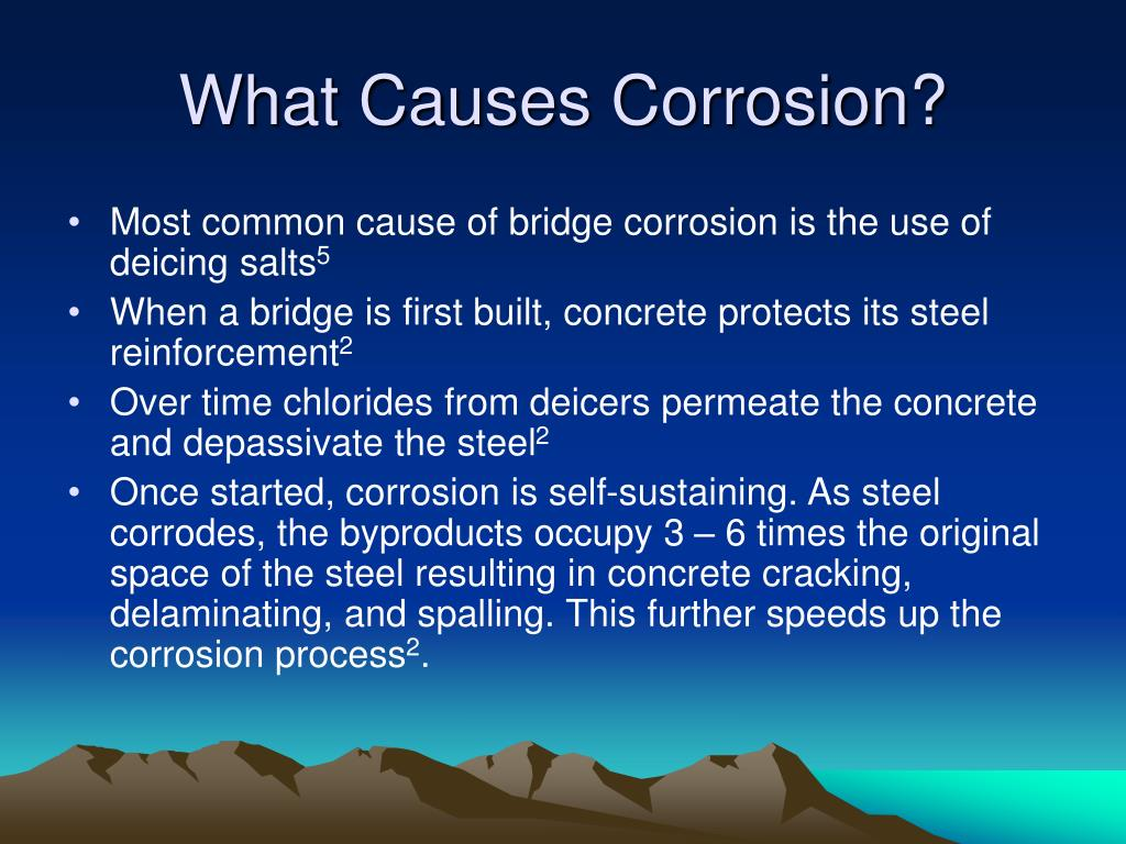 What Causes Corrosion?
