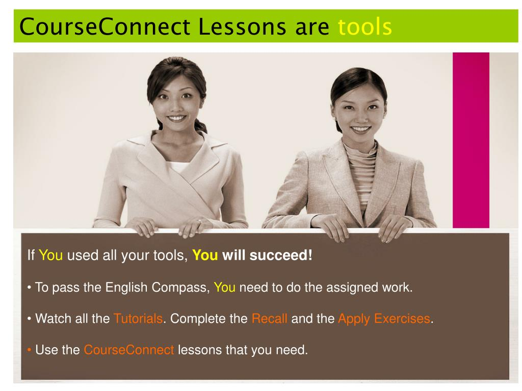 CourseConnect Lessons are