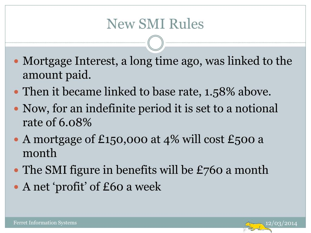 New SMI Rules
