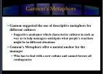 gannon s metaphors