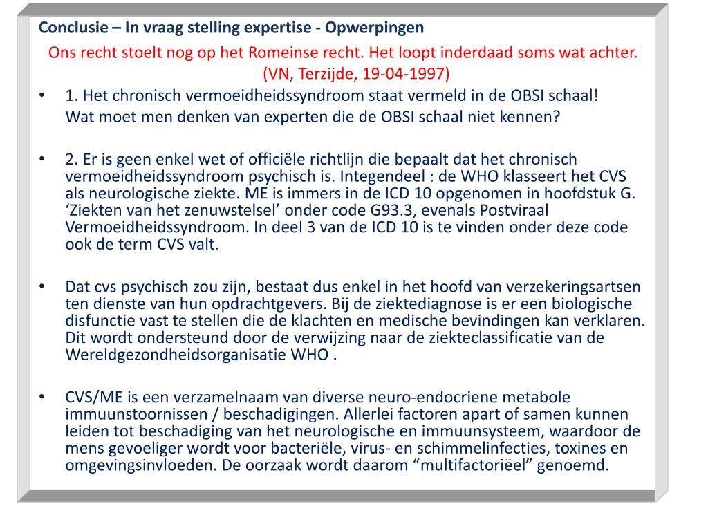 Conclusie – In vraag stelling expertise -