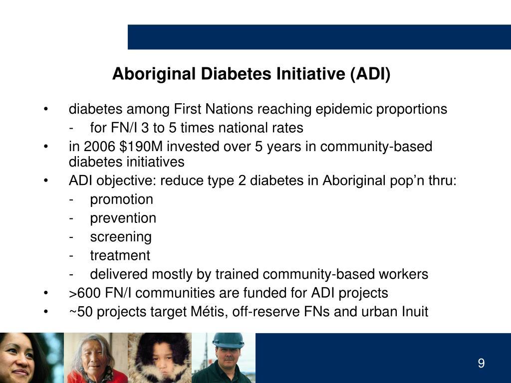 Aboriginal Diabetes Initiative (ADI)