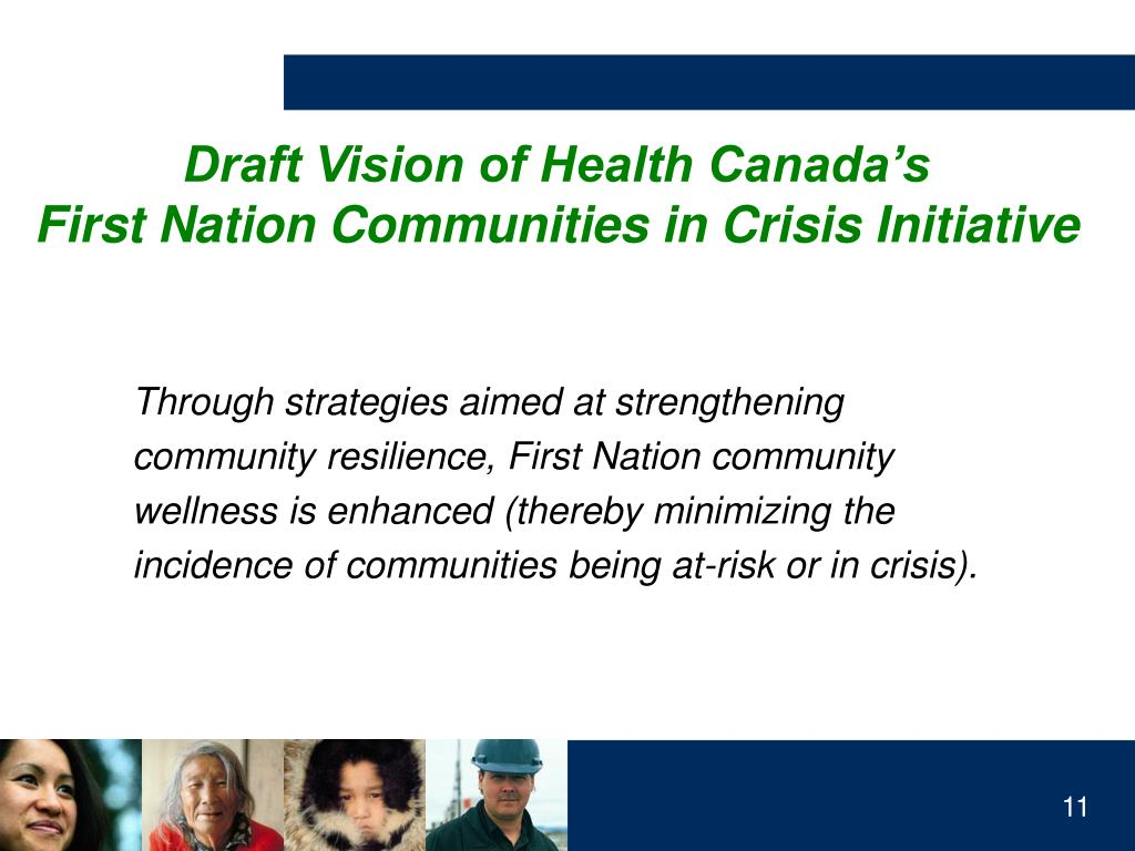Draft Vision of Health Canada's