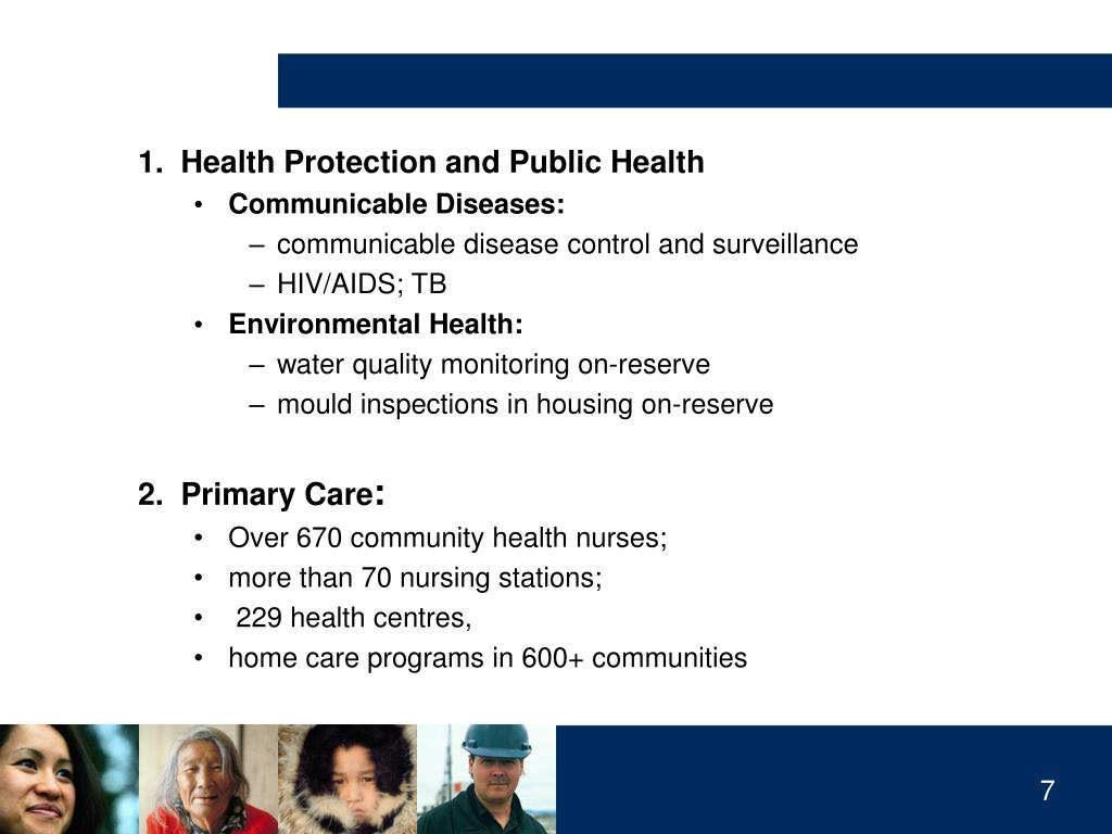 1.  Health Protection and Public Health