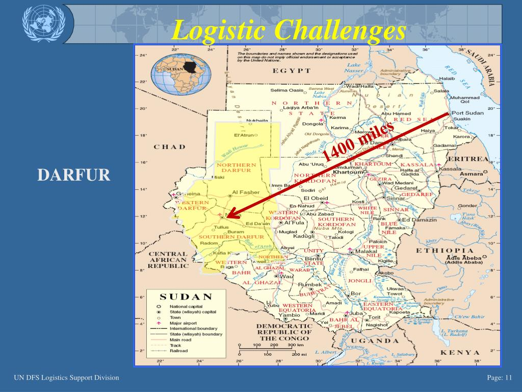 Logistic Challenges