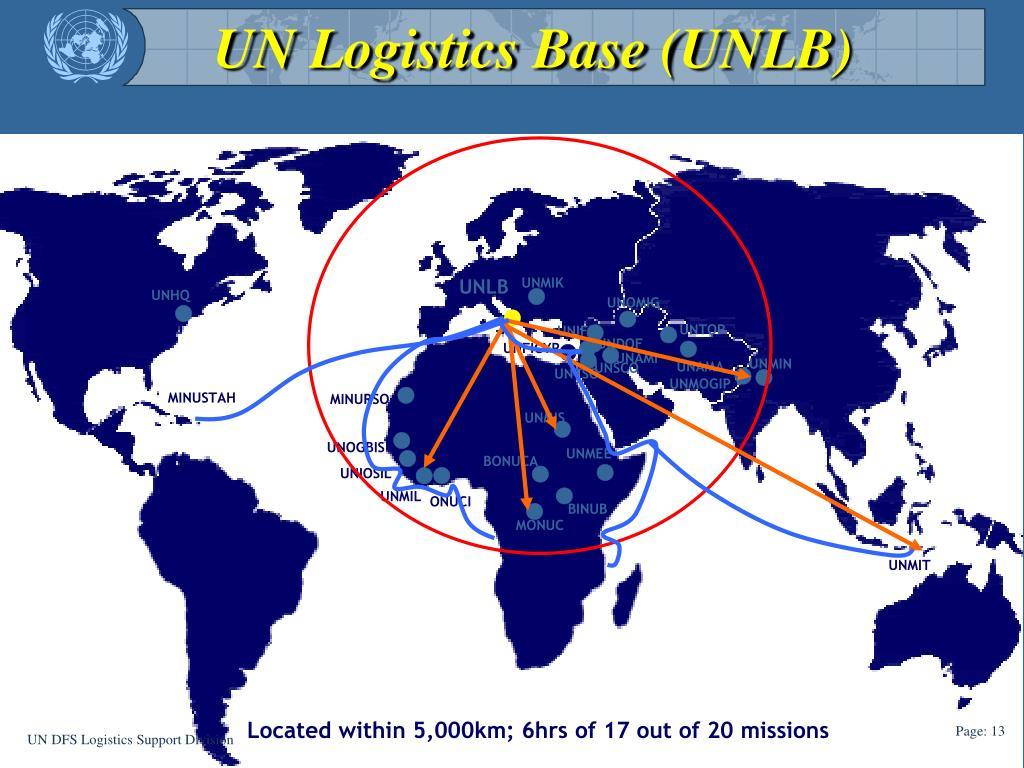 UN Logistics Base (UNLB)