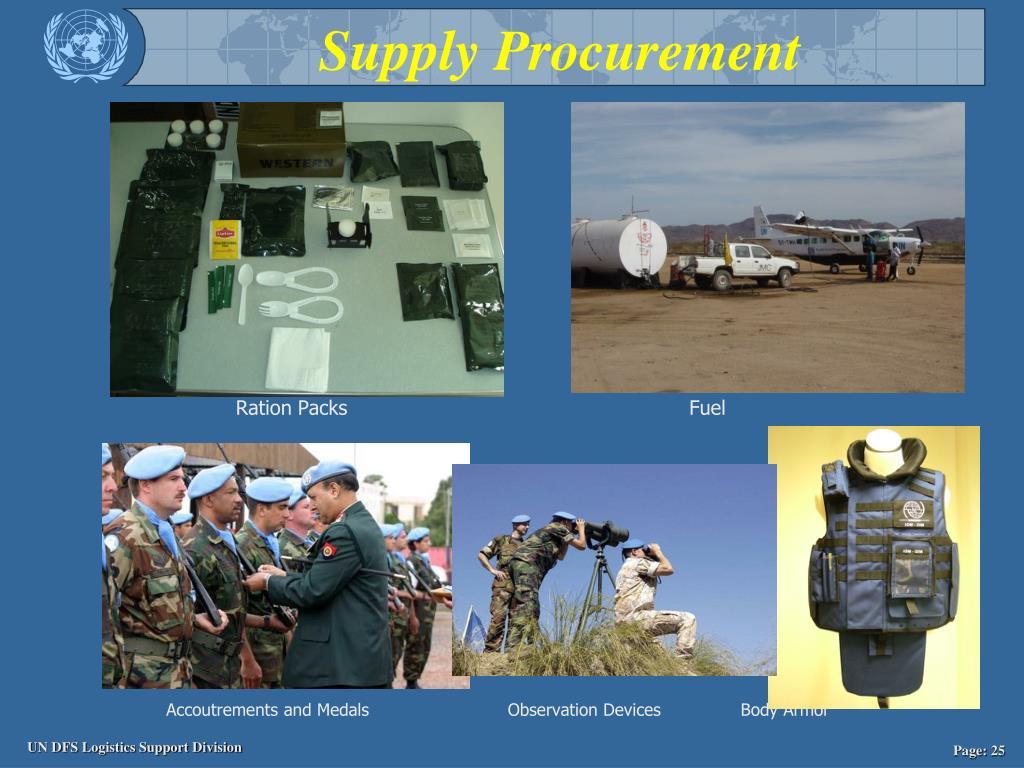 Supply Procurement